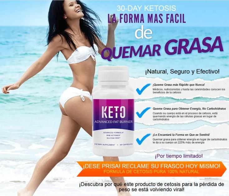 Los beneficios de Keto Advanced Fat Burner