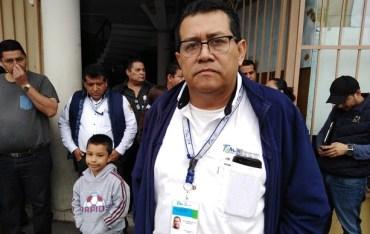 Manifestación en la Jurisdicción Sanitaria 12, con tintes de grilla sindical