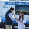 Entrega Gobernador 3 nuevas ambulancias a hospitales de Reynosa.