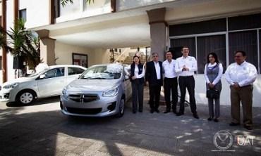 Entrega Rector premios a sindicalizados de la UAT