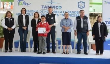 """Pone en Marcha Chucho Nader """"Tampico Brilla"""" en las Escuelas"""