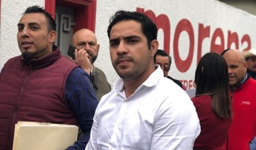 Llega Roberto Vega, bien fortalecido a su registro