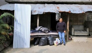 Apoya DIF Altamira a familia afectada por incendio en su domicilio