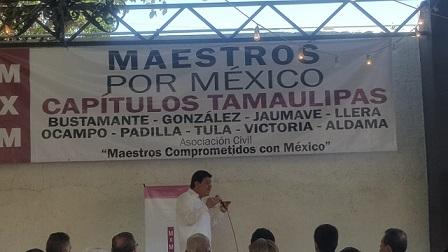 SNTE debe responder a intereses de maestros de México: Enrique Meléndez