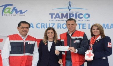 Pone en Marcha Chucho Nader la Colecta Anual de la Cruz Roja