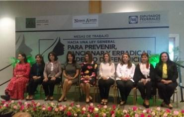 "Pretenden Legisladoras Panistas ""Fabricar"" Nueva Ley vs Feminicidio"