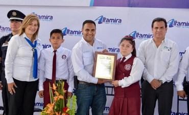 Gobierno de Altamira activa Ciclo Municipal Educativo en Secundaria Técnica 63