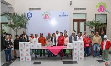 Garantiza DIF Tampico Alimentación a Grupos Vulnerables