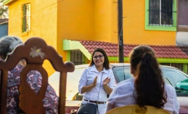 Recibe Itaty García, el apoyo de los tampiqueños en la zona norte