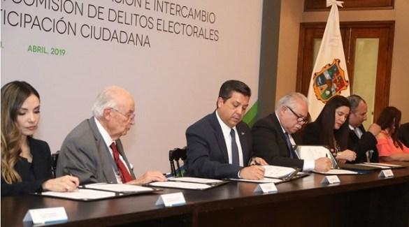 Acuerdan Gobierno de Tamaulipas y FEPADE colaboración para prevenir delitos electorales