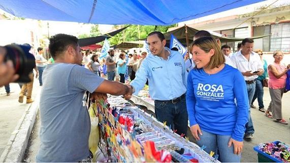 Con Rosa González Tampico Alcanzará Mayor Desarrollo y Bienestar