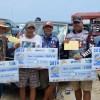 Éxito total en torneo de pesca playero del 270 aniversario de la fundación de Altamira