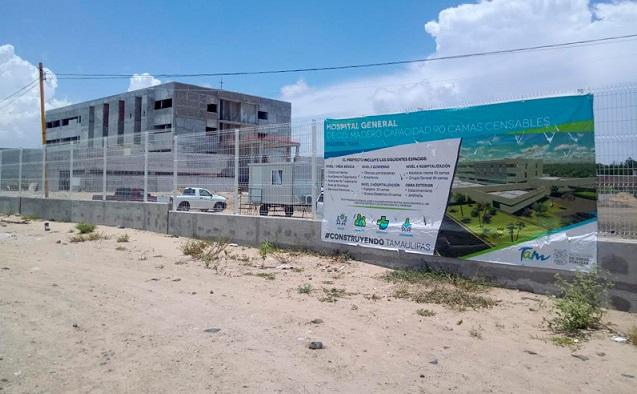 Se Concluirán Obras del ex Sexenio de Peña para Después Comenzar con Nuevo Hospital en Tampico: Martínez Bermea