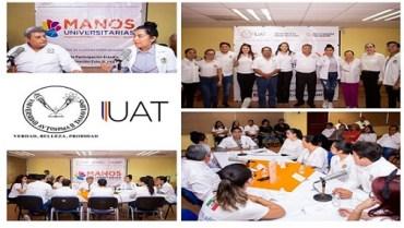 Fortalece UAT la responsabilidad social de sus estudiantes
