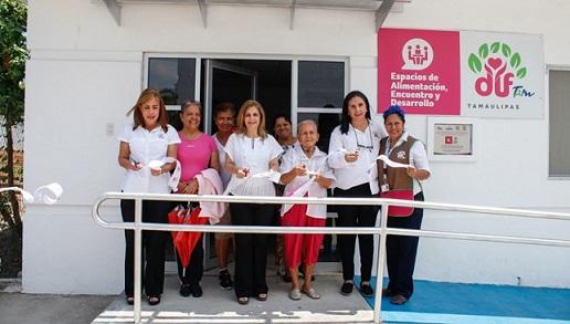 Inaugura Aida Feres de Nader Ampliación en Comedor Comunitario