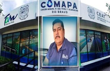 """""""ALFREDO JUÁREZ, LE CUESTA MUCHO DINERO A COMAPA RÍO BRAVO""""."""