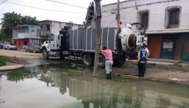 Elimina Gobierno de Tamaulipas focos de contaminación en municipios.