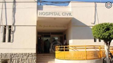 Atiende SST a trabajadores del Hospital Civil Victoria positivos a COVID-19