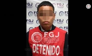 Captura FGJET a sujeto por homicidio calificado y asociación delictuosa