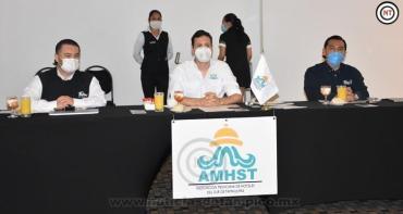 En Tamaulipas impulsan recuperación del sector hotelero.