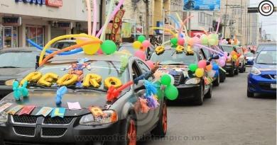 Realiza DIF Madero Caravana para conmemorar el Día de la Familia