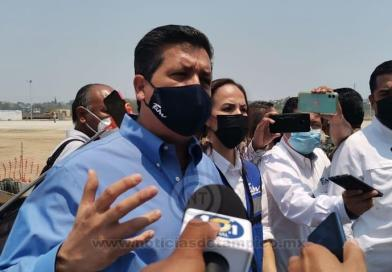Supervisa CV Obras del Carpintero; Pide a Federación que Deje Apoyar en Tema Vacunación