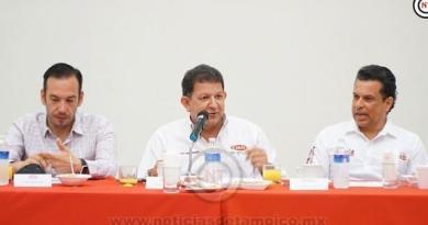 Comprometidos con el desarrollo «CMIC Victoria» recibió a los candidatos de la coalición Morena-PT