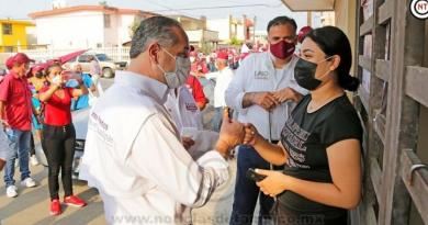 Cientos se siguen sumando a proyecto de Adrián Oseguera