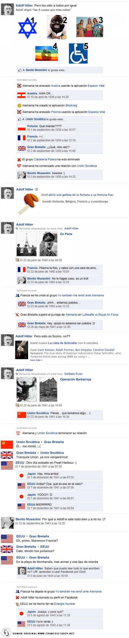 facebook hitler