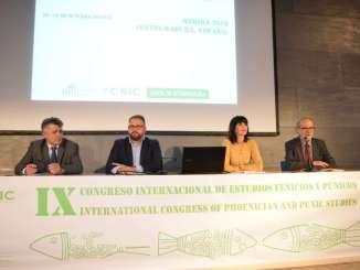 """La secretaria general de Cultura pone de manifiesto """"la capacidad de la región en el papel investigador"""" en el ámbito arqueológico"""