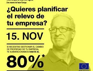 La convocatoria de ayudas a la continuidad empresarial permanece abierta hasta el 15 de noviembre