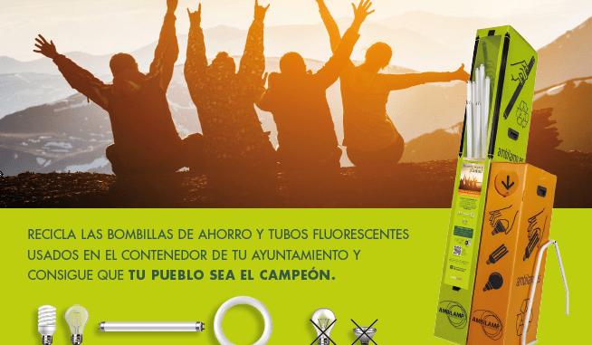 AMBILAMP inicia este sábado el concurso de reciclaje de bombillas entre los municipios de la Mancomunidad de Sierra de Gata