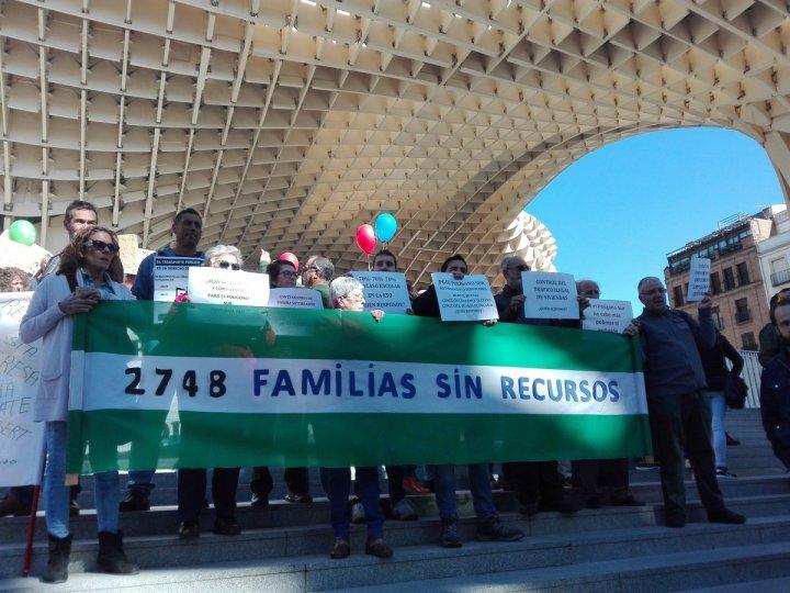 Trabajadores cristianos exigen justicia para el Polígono Sur de Sevilla