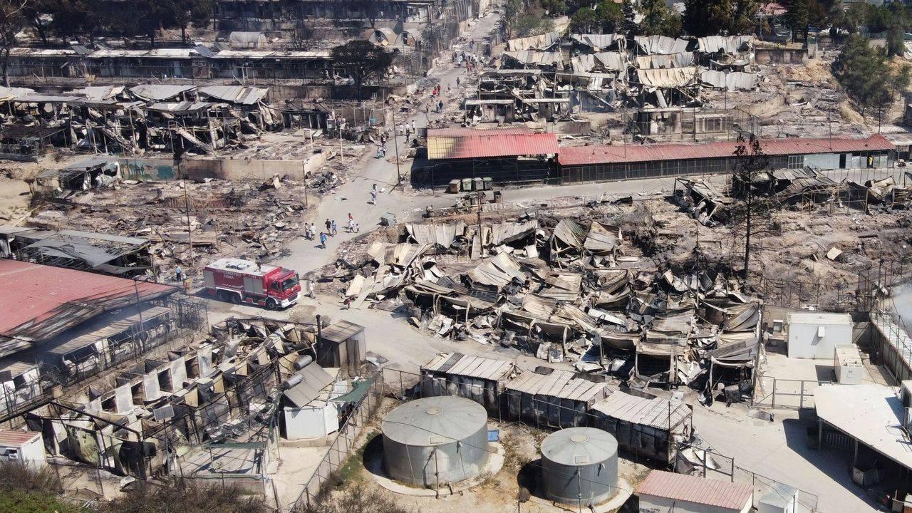 ¿Por qué ha ardido el campo de refugiados de Moria?