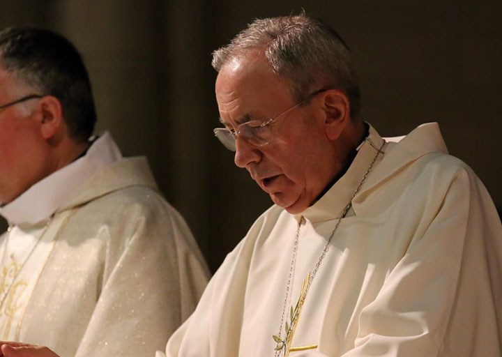 El obispo Gómez Cantero a su compañero Antonio Algora