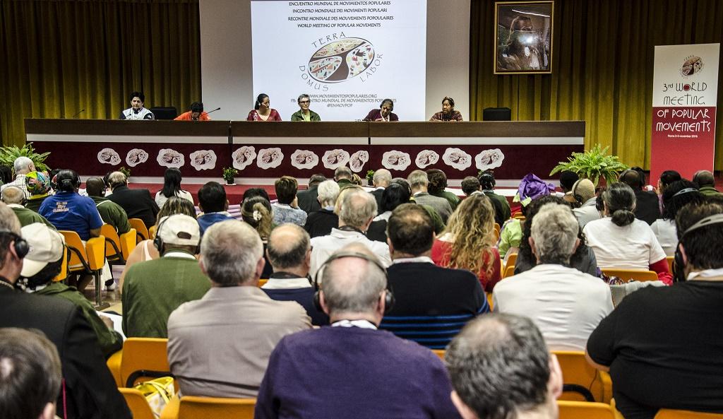 Movimientos populares y Vaticano se reúnen para dialogar sobre tierra, techo, trabajo y Fratelli tutti