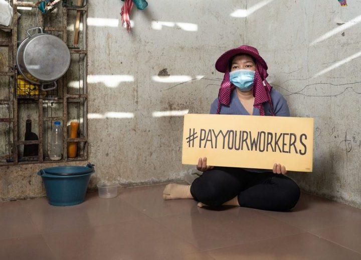 Campaña global #PagaATusTrabajadoras, respeta sus derechos laborales