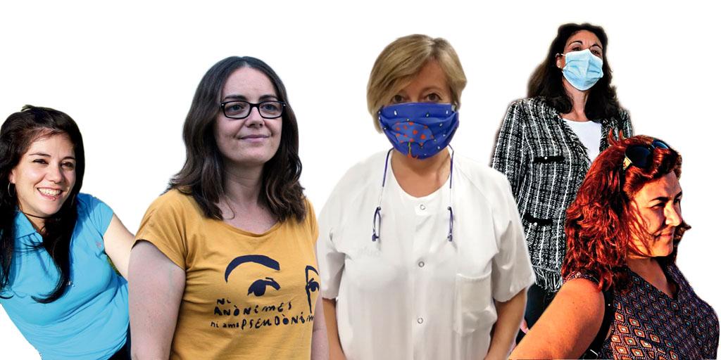 Cinco trabajadoras cristianas comparten su compromiso militante