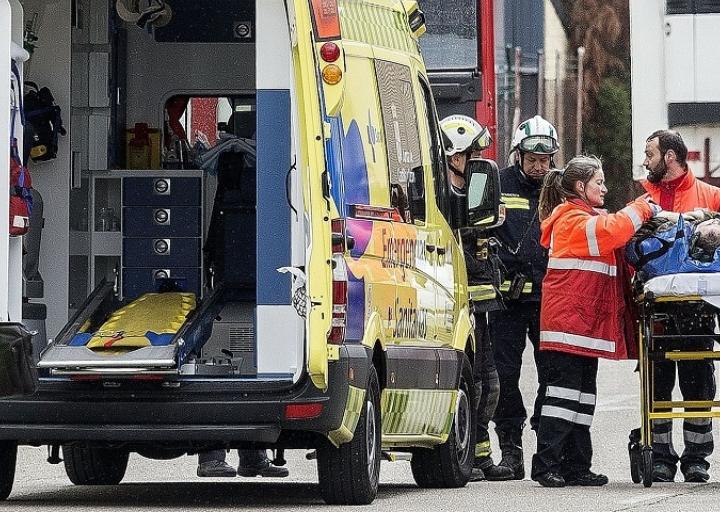 Trabajadores cristianos de Burgos se concentran por la seguridad en el trabajo