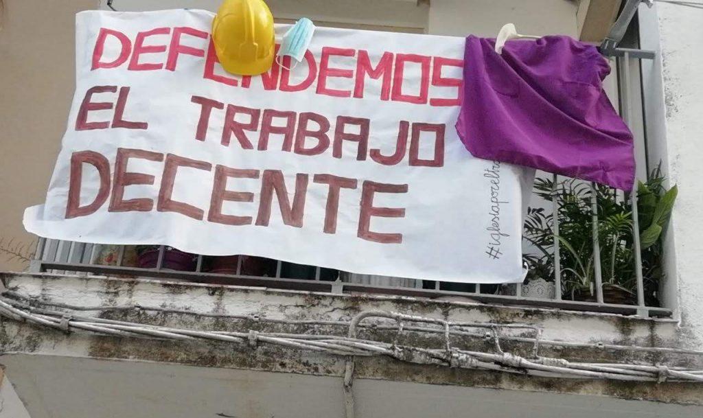 Movilización en los balcones y convocatorias del Primero de Mayo