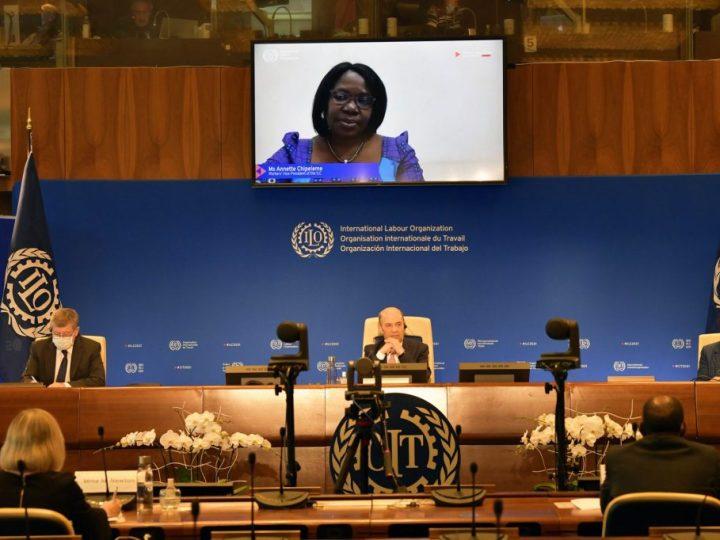 1ª parte de la 109ª reunión de la Conferencia Internacional del Trabajo