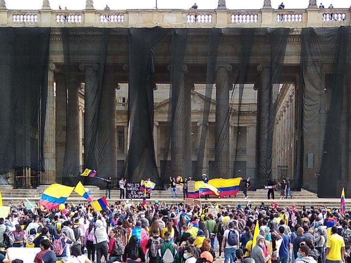 Trabajadores cristianos de América apoyan la movilización social en Colombia