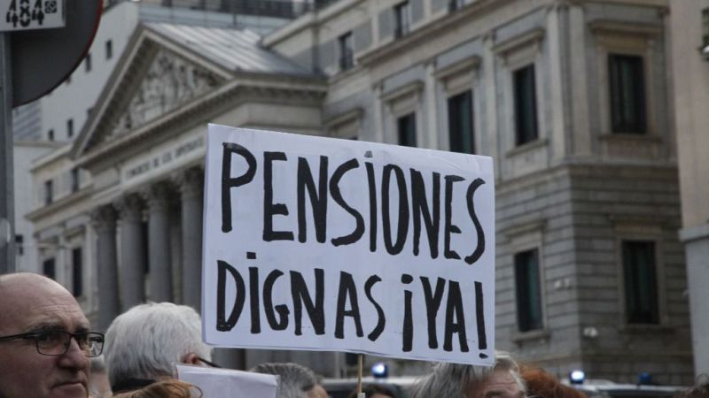 Madrid | Manifestación pensionista