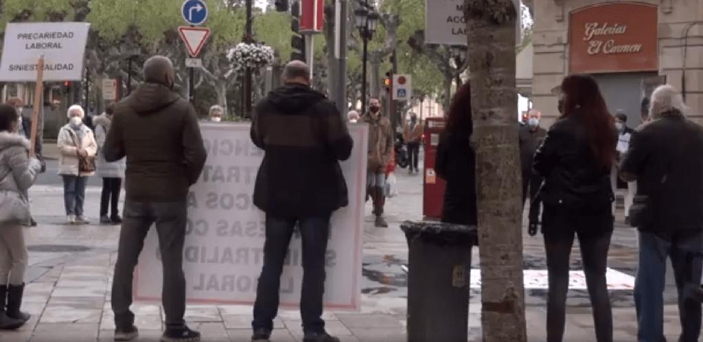 """""""Perder la vida por ganarse el pan"""", documental de la Plataforma 28 de abril"""