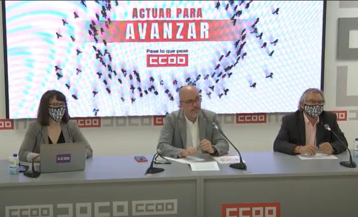 Unai Sordo aspira a renovar su mandato con la vista puesta en el nuevo contrato social del siglo XXI