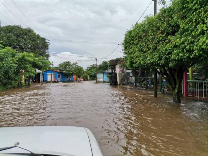 Atiende Protección Civil de Santiago Tuxtla afectaciones por lluvias
