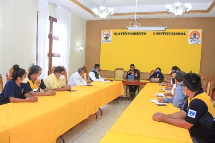 Se reúne Consejo Municipal de Protección Civil de Santiago Tuxtla