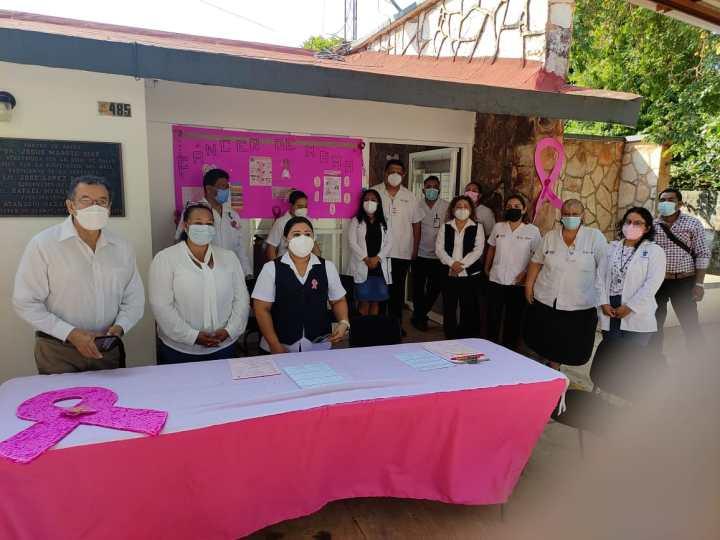 Mes Rosa, Octubre mes de sensibilización del cáncer de mama