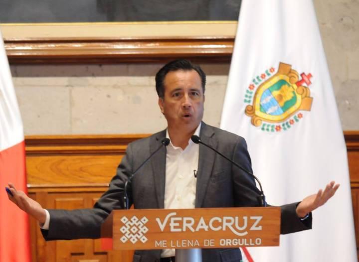 «No lo conozco», así respondió el gobernador Cuitláhuac García Jiménez sobre el presidente de la Mesa Directiva del congreso federal, Sergio Gutiérrez