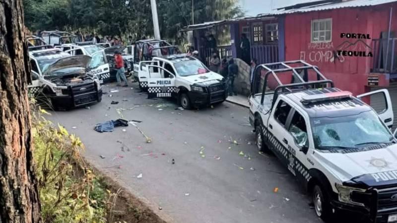 En Soledad Atzompa, pobladores destruyen dron de la SSP porque creían que rociaba Covid